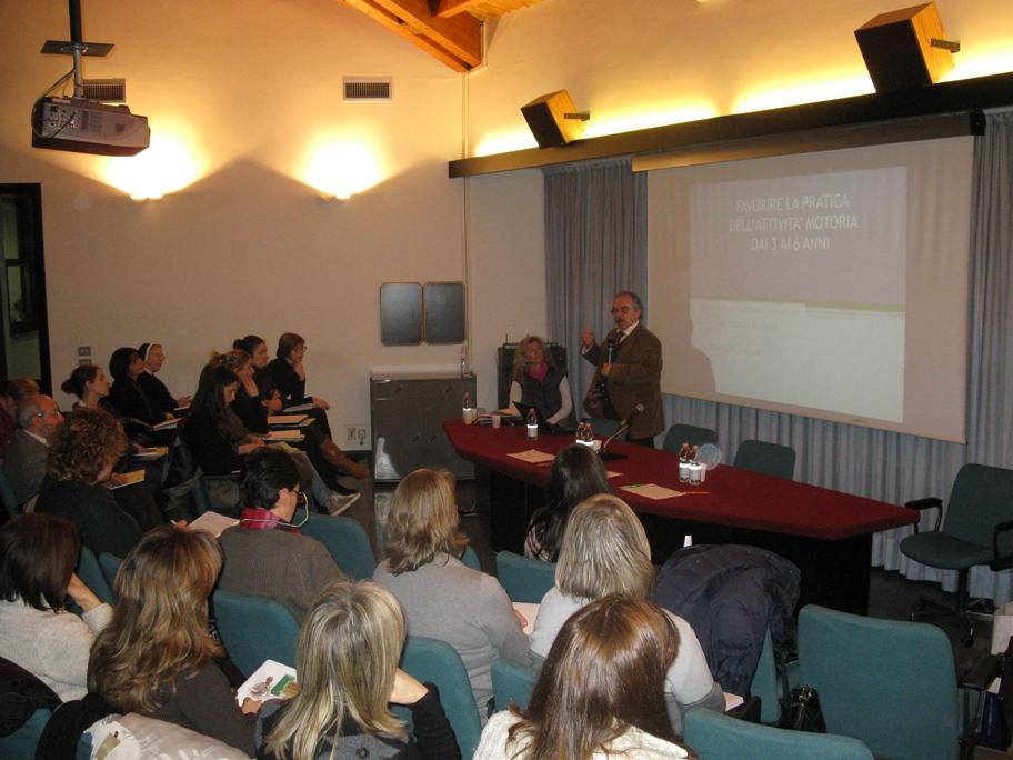 il prof. Guido Fumagalli e la dott.ssa Patrizia Tortella
