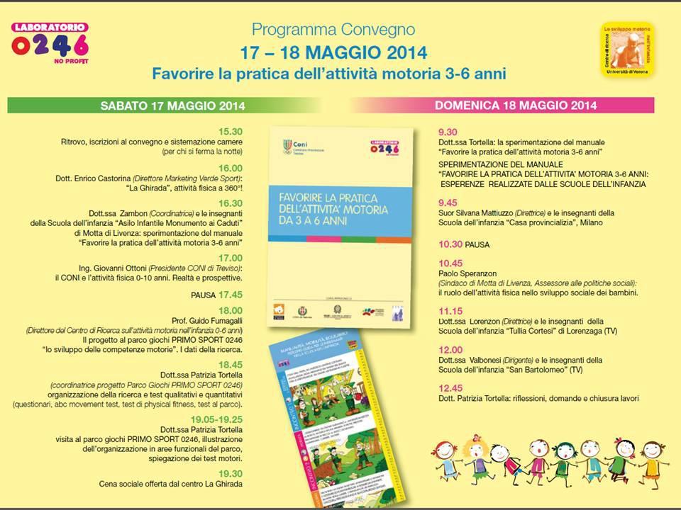 Il programma della due giorni alla Ghirada di Treviso, 17 e 18 maggio 2014